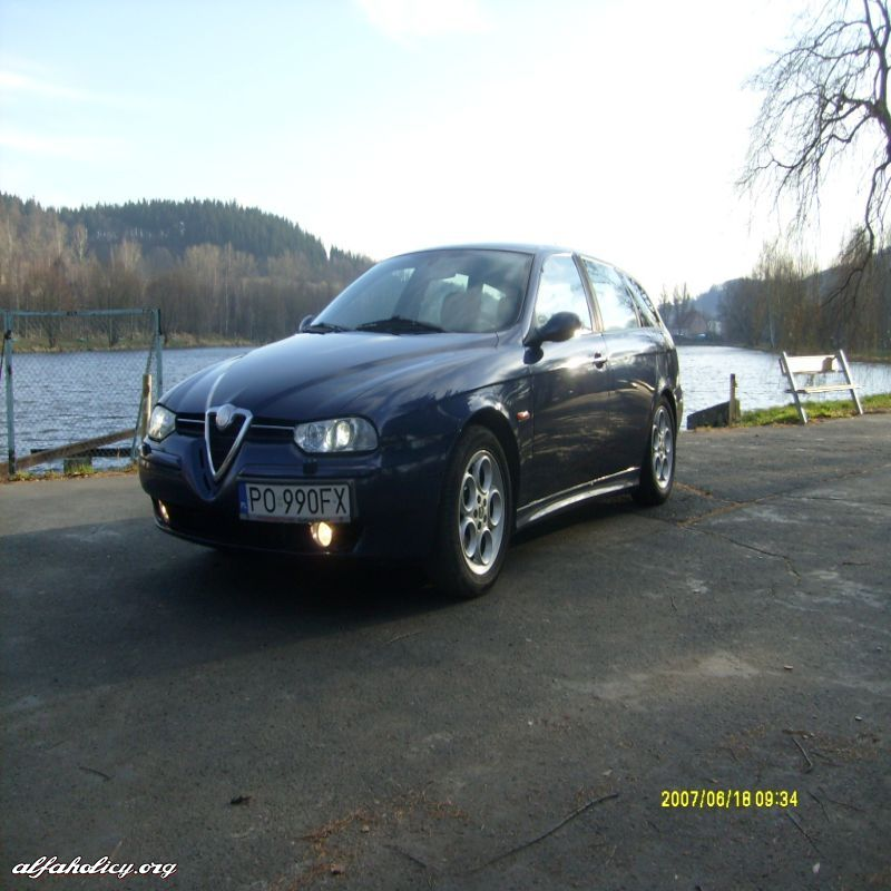 Moja Alfa Romeo 156 SW Sportpack