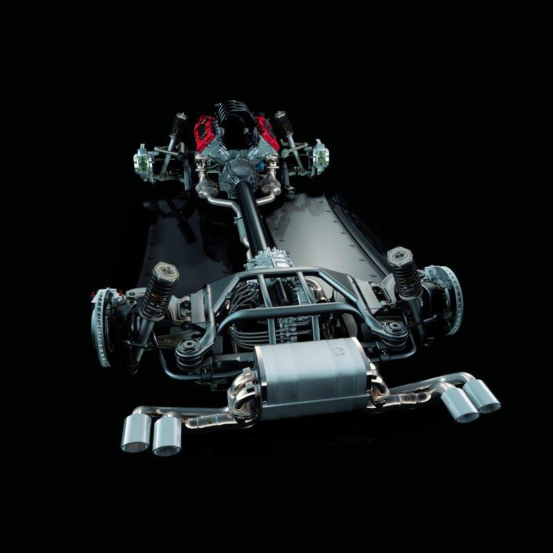 Układ napędowy Alfa Romeo 8C Competizione