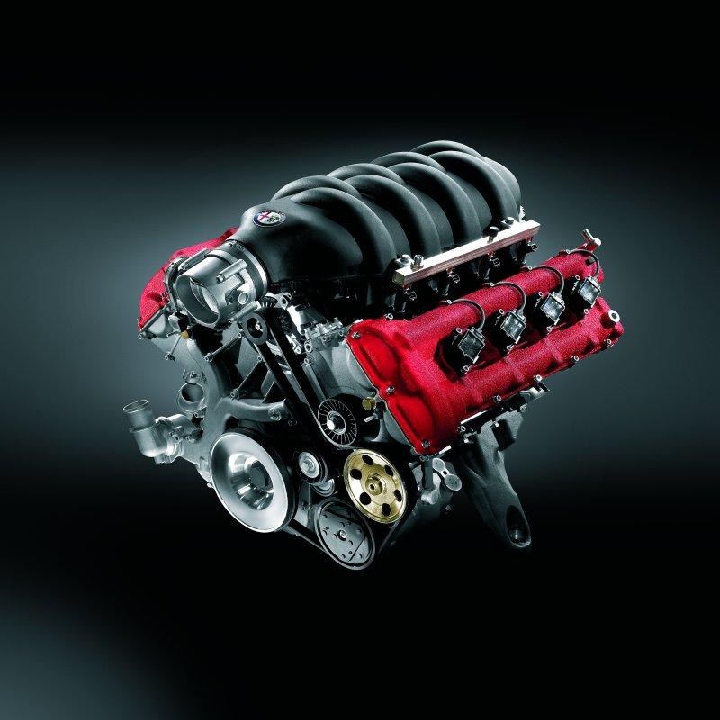 Silnik Alfa Romeo 8C Competizione