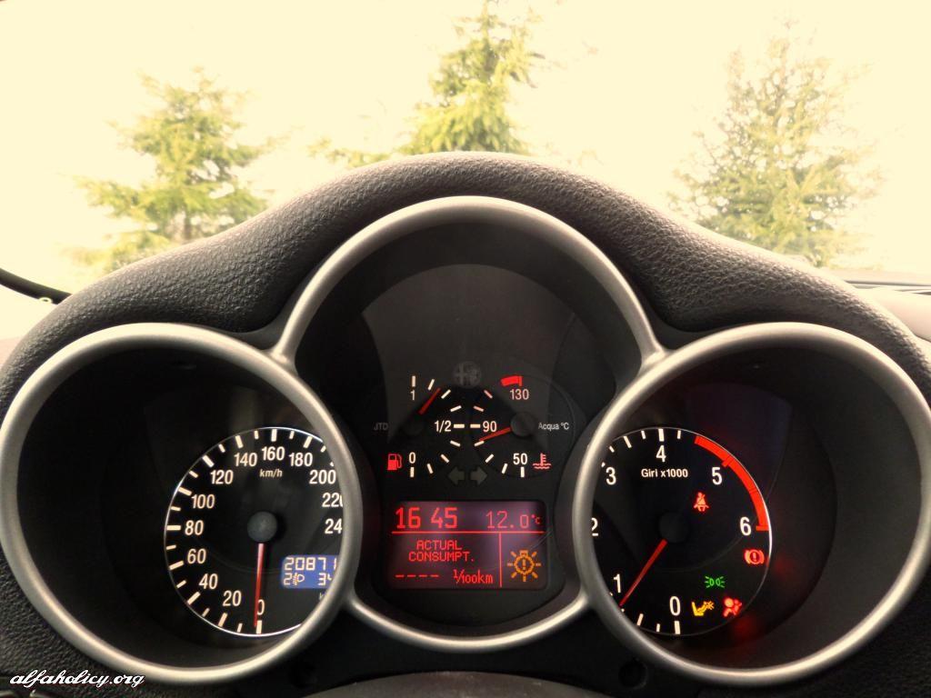 Zmiana Koloru Podswietlenia Tarcz Licznika Zegarow A Alfa Licznik Tacho Speedometer Led Tuning