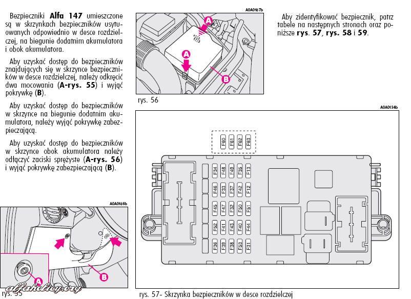 manual instrukcja obs ugi alfa 147 jtd. Black Bedroom Furniture Sets. Home Design Ideas