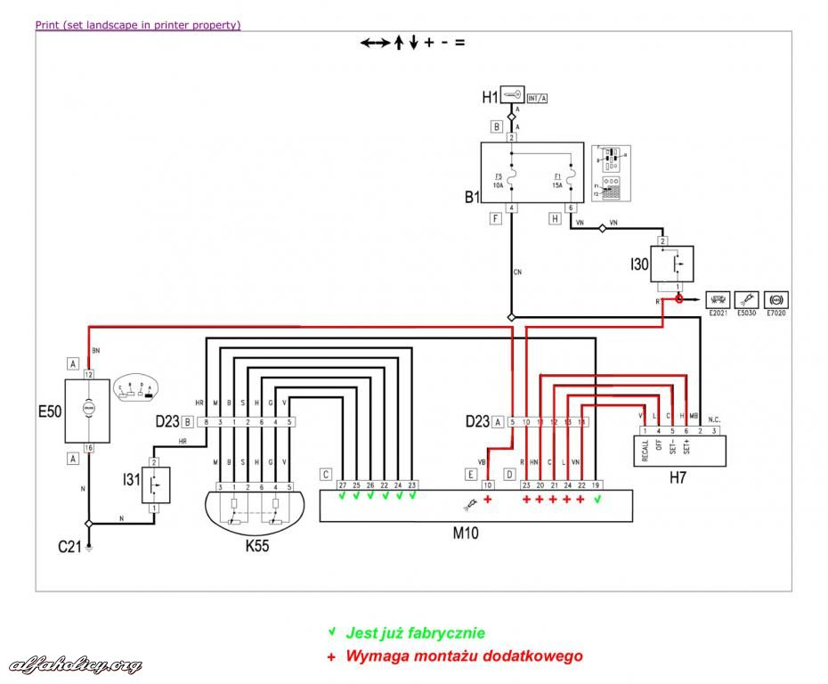 Schema Elettrico Navigatore Alfa 159 : Schema cruise control alfa wire center
