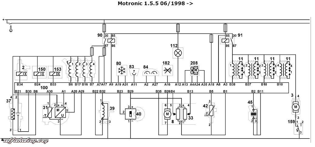 schemat elektryczny do 156
