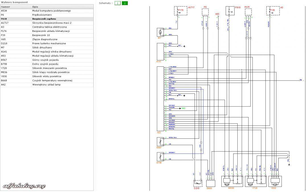 schemat elektryczny   strona