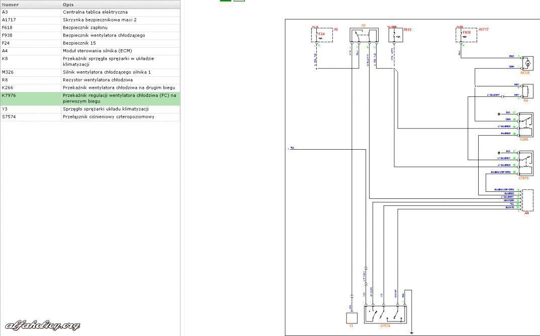 Schema Elettrico Navigatore Alfa 159 : Schemat elektryczny do strona