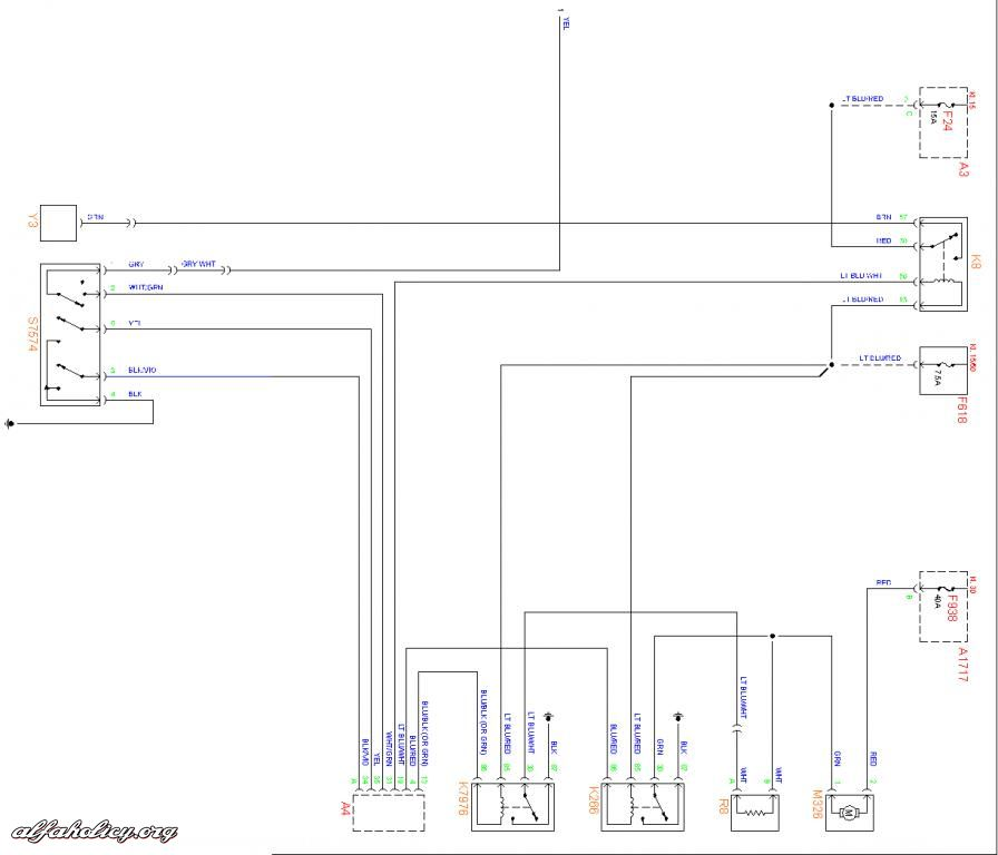 English Wiring diagram for 156 Page 3