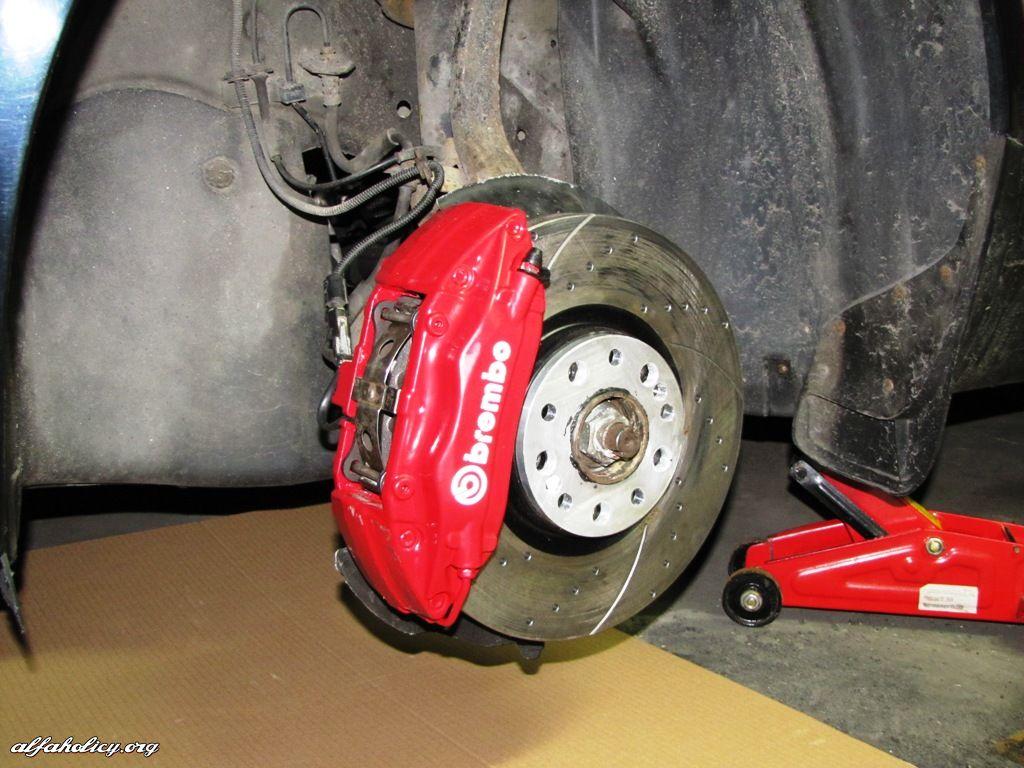Alfa Romeo Mito >> [159] SWAP zacisków brembo przedniej osi w Alfie 159 16V