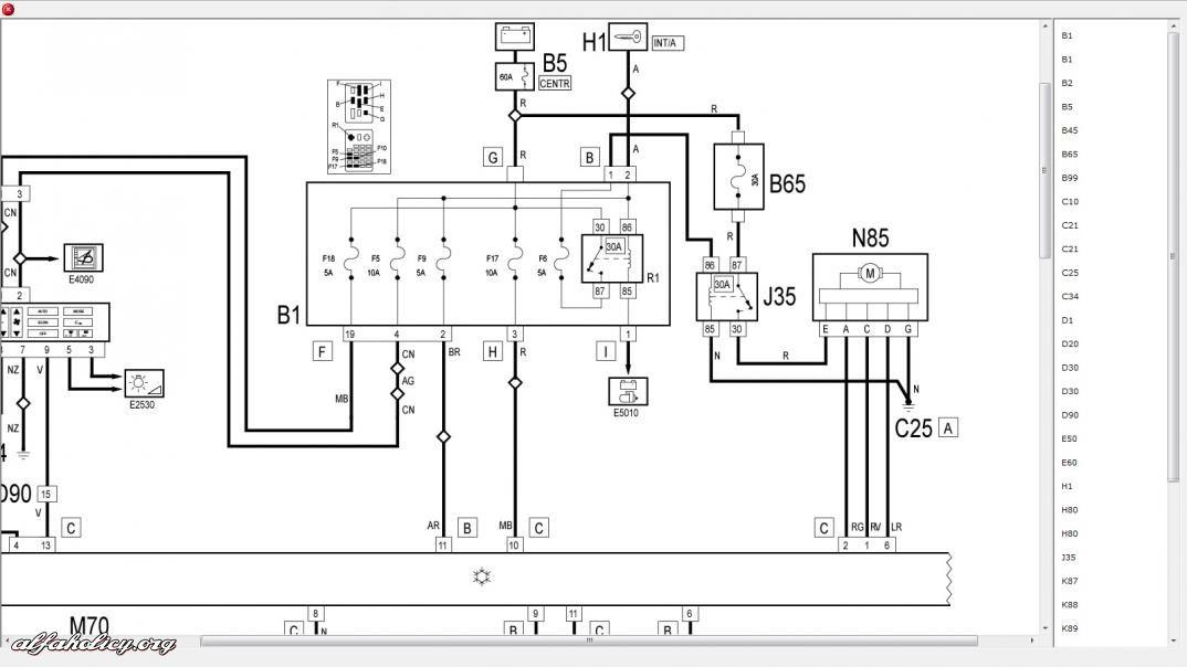 schema elettrico fiat doblo  montaggio doppio clacson con