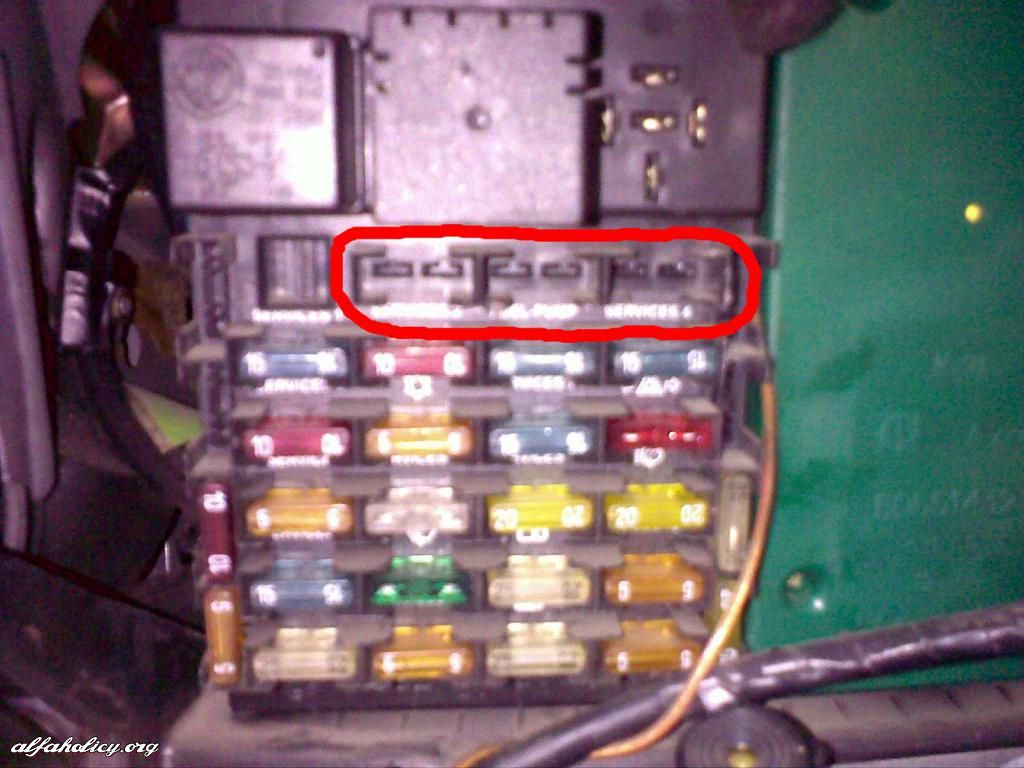 english fuse box what s missing rh forum alfaholicy org alfa romeo 166 fuse box diagram alfa romeo 166 fuse box location