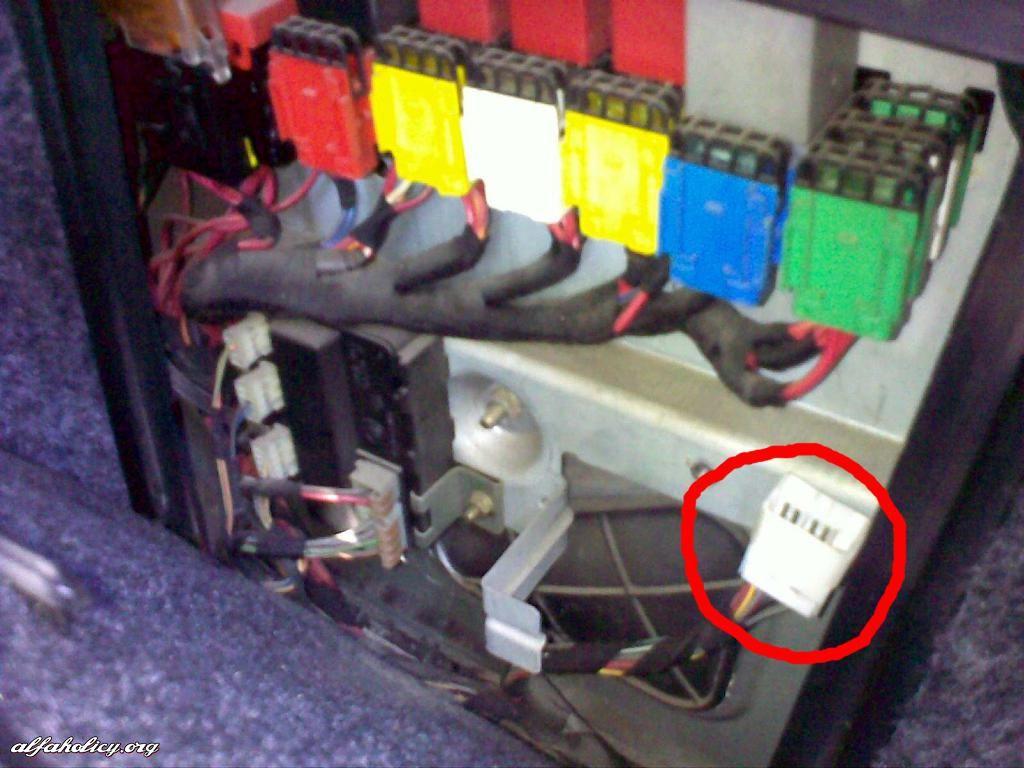 Alfa Romeo 166 Fuse Box | Wiring Diagram on