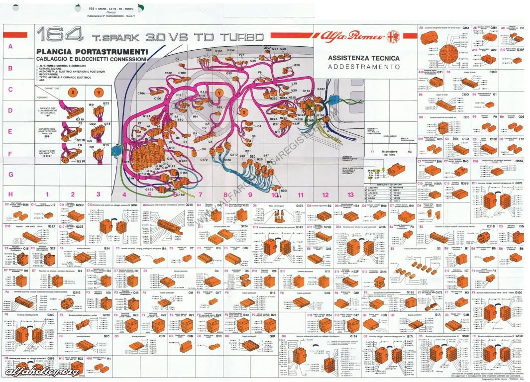 Alfa Romeo Wiring Diagrams Schematics Wiring Data \u2022 Wiring Lights  Wiring Diagram Giulietta