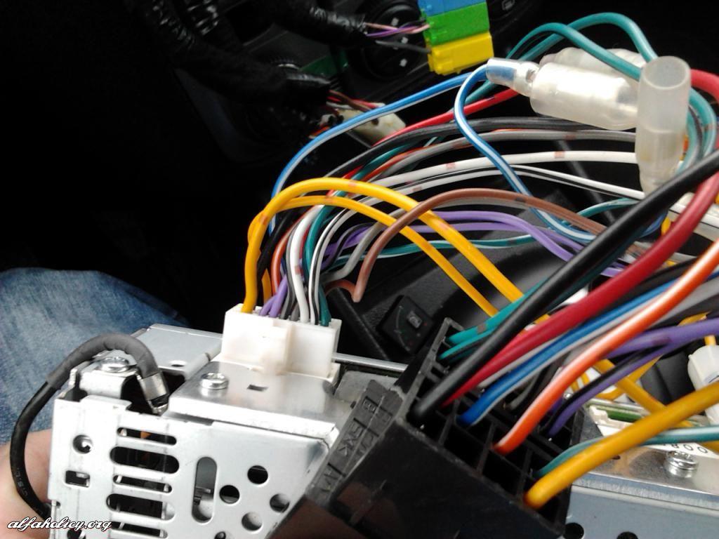 Alfa Romeo Stereo Wiring Diagram Shirogadget com